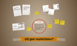 US gun restrictions?