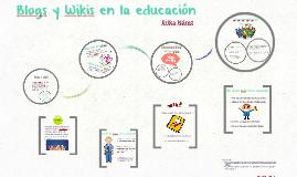 Blogs y Wikis en la educación