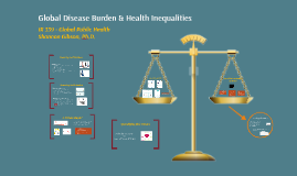 339 Global Disease Burden & Health Inequalities