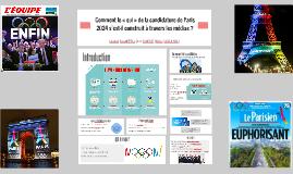 Comment le « oui » de la candidature de Paris 2024 s'est-il