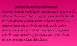 ¿Qué son los antivirus informáticos?