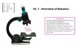 Genetics-Chapter 1
