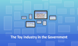 The Toy Industry in the Government