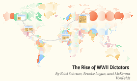 The Rise of WWII Dictators