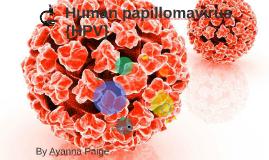 Human papillomavirus {HPV}