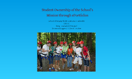 Student Ownership of the School's Mission Through ePortfolios