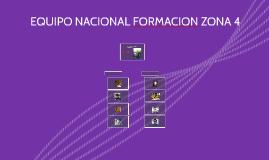 ORGANIGRAMA EQUIPO NACIONAL DE FORMACION ZONA 4