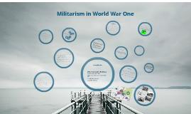 Militarism in 19 century