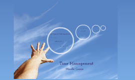 Time management moodle