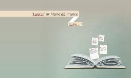 """""""Lanval"""" by Marie de France"""