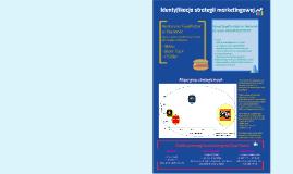 Identyfikacja strategii marketingowej