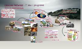 Ciências Naturais - 7.º ano :: programa