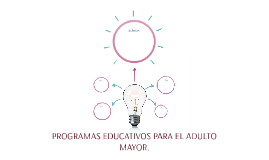 PROGRAMAS EDUCATIVOS PARA EL ADULTO MAYOR.