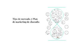 Tipo de mercado, y Plan de marketing de chocodia