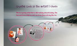 Crystal Cook(the artist)