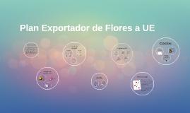 Plan Exportador de Flores a UE