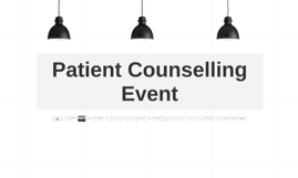 Patient Counselling Event for APPS 2015