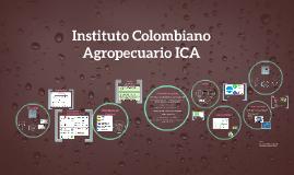 Instituto Colombiano Agropecuario ICA