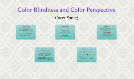 Color Blindness and Color Perspective