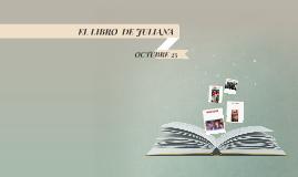 EL LIBRO  DE JULIANA