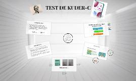 test de kuder-c
