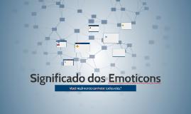 Significado dos Emoticons