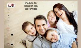 MÓDULO 15: Relación con las familias