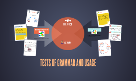 TESTS OF GRAMMAR AND USAGE