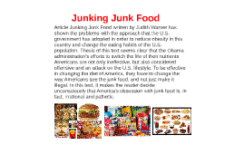 effects of junk foods essay Learn about fast food effects on your different body systems newsletter the effects of fast food on the body  the ingredients in junk food and fast food may have an impact on your fertility.