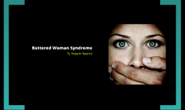 abused and battered women thesis statement