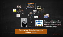 Copy of Prevención de adicciones en adolescentes