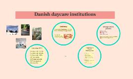 Danish preschools