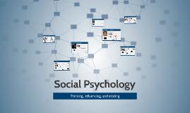 Social Psychology