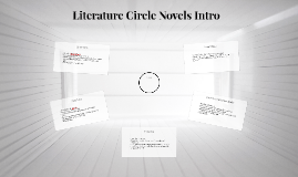 Literature Circle Novels Intro