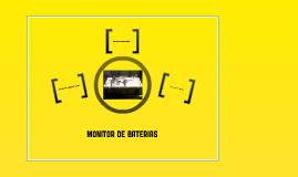 Monitor de bateria para automoviles