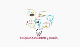 Copy of Capitulo 5. Percepción. Conocimiento y emoción.