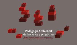 Pedagogía Ambiental: