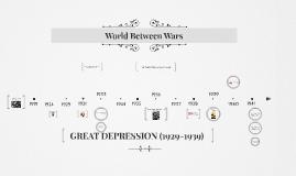 World Between Wars timeline