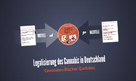Legalisierung des Cannabis in Deutschland