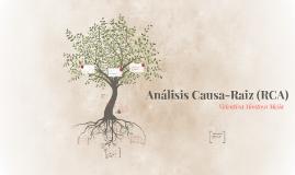 Análisis Causa-Raiz (RCA)