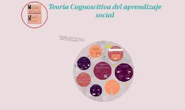 Copy of Copy of Teoría Cognoscitiva del aprendizaje social