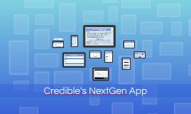 Credible 402: NextGen Mobile App