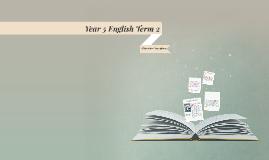Year 5 English