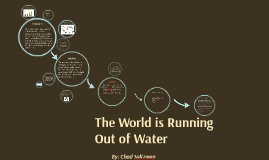 Desalination of Water