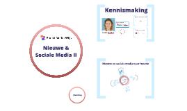 2018_Training Nieuwe & Sociale Media 2 - Go Mediacoach
