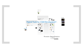 Copy of Digital Tools for Early Childhood Development