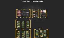 Junk Food and Food Culture