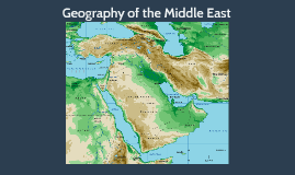 Copy of Middle East Geography