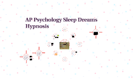 AP Psychology Sleep Dreams Hypnosis