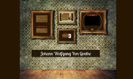 Copy of Johann Wolfgang Von Goethe